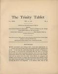 Trinity Tablet, May 14, 1898