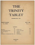 Trinity Tablet, May 14, 1898 Advertisements