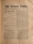 Trinity Tablet, October 5, 1889