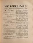 Trinity Tablet, November 16, 1889
