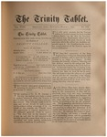 Trinity Tablet, March 1, 1890