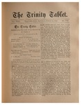 Trinity Tablet, March 22, 1890