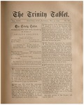 Trinity Tablet, May 31, 1890