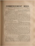 Trinity Tablet, June 23-26, 1890 (Commencement Special)