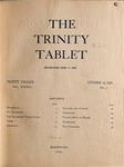 Trinity Tablet, October 29, 1898