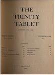 Trinity Tablet, December 10, 1898