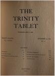 Trinity Tablet, December 24, 1898