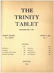 Trinity Tablet, March 11, 1899