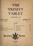 Trinity Tablet, December 20, 1899