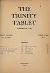 Trinity Tablet, March 10, 1900