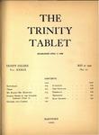 Trinity Tablet, May 21, 1900