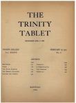Trinity Tablet, February 19, 1901 by Trinity College