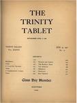 Trinity Tablet, June 25, 1901