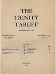 Trinity Tablet, December 3, 1901 by Trinity College