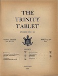 Trinity Tablet, March 25, 1902