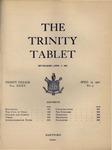 Trinity Tablet, April 15, 1902 by Trinity College