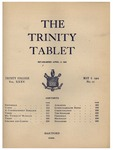 Trinity Tablet, May 06, 1902 by Trinity College