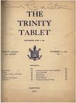 Trinity Tablet, November 13, 1902 by Trinity College