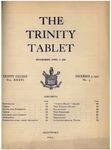 Trinity Tablet, December 4, 1902 by Trinity College