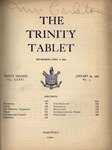 Trinity Tablet, January 29, 1903 by Trinity College
