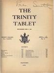 Trinity Tablet, April 4, 1903 by Trinity College