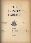 Trinity Tablet, May 16, 1903 by Trinity College