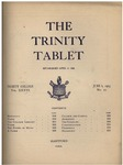 Trinity Tablet, June 6, 1903 by Trinity College