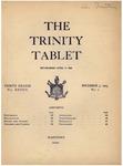 Trinity Tablet, November 7, 1903