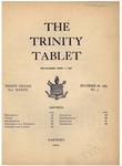 Trinity Tablet, November 28, 1903 by Trinity College