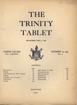 Trinity Tablet, December 19, 1903 by Trinity College