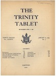 Trinity Tablet, January 27, 1904