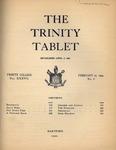 Trinity Tablet, February 17, 1904 by Trinity College