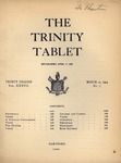 Trinity Tablet, March 12, 1904