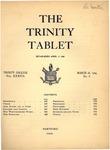 Trinity Tablet, March 28, 1904
