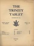 Trinity Tablet, April 30, 1904 by Trinity College
