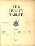 Trinity Tablet, May 18, 1904