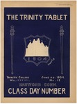 Trinity Tablet, June 20, 1904 by Trinity College