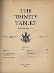 Trinity Tablet, October 14, 1904