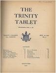 Trinity Tablet, November 29, 1904 by Trinity College