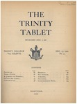 Trinity Tablet, December 19, 1904 by Trinity College