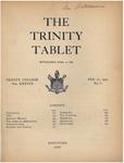 Trinity Tablet, February 21, 1905 by Trinity College