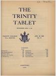 Trinity Tablet, April 18, 1905 by Trinity College