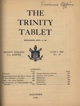 Trinity Tablet, June 1, 1905