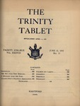 Trinity Tablet, June 15, 1905