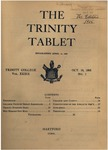Trinity Tablet, October 19, 1905
