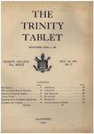 Trinity Tablet, November 25, 1905 by Trinity College