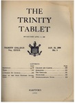 Trinity Tablet, January 25, 1906