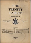 Trinity Tablet, March 12, 1906