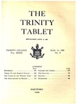 Trinity Tablet, March 31, 1906