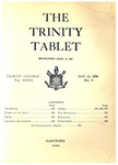 Trinity Tablet, May 13, 1906